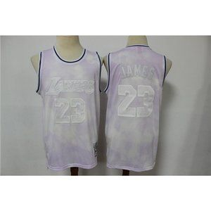 Los Angeles Lakers LeBron James Pink  Jersey